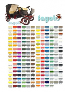 electrical carriage color palette